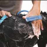 Silicone Dog Washing Massage Brush - Dave's Deal Depot