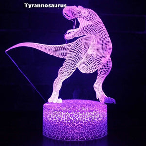 3D Dinosaur Night Light - Dave's Deal Depot
