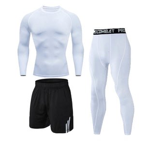 Men's Athletic Physical Training Workout Jogging Dry Fit - Dave's Deal Depot