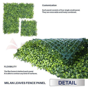 5PCS 60x 40cm Artificial Garden Wall Decor - Dave's Deal Depot