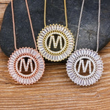 A-Z Letter Pendant Necklaces For Women - Dave's Deal Depot
