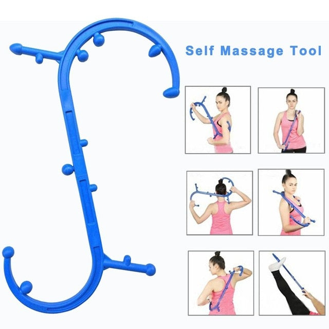 Back Buddy Massager,Full Body Muscle Pain Relief Massage Cane - Dave's Deal Depot