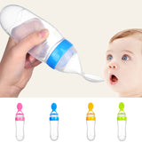 Silicone Baby Bottle Spoon Feeder - Dave's Deal Depot