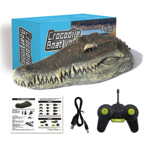 Crocodile Simulation RC Boat - Dave's Deal Depot