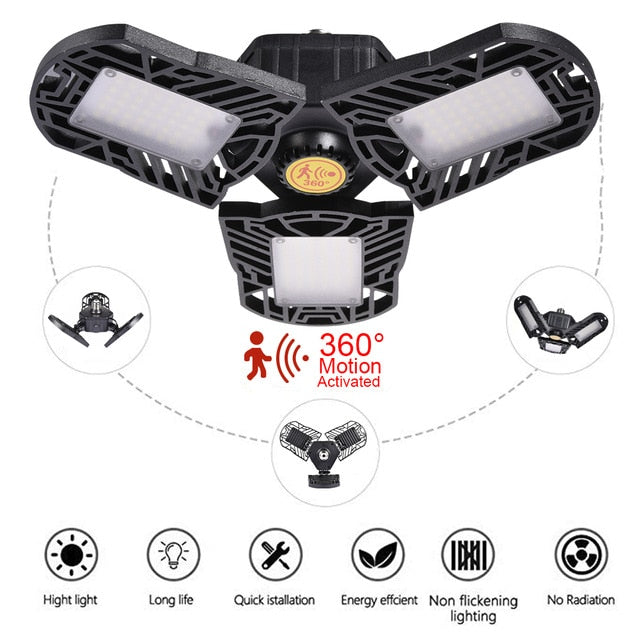 Ultra Bright LED Garage Light - Dave's Deal Depot