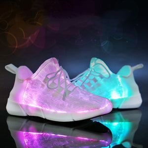 Kid's LED Rechargeable Sneaker Glow Shoes
