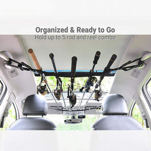 Vehicle Fishing Rod Carrier - Dave's Deal Depot