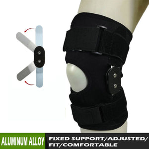Adjustable Aluminum Hinged Knee Support Brace
