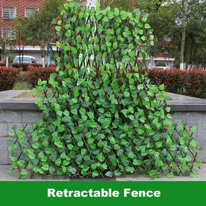 Retractable Artificial UV Protected Garden Fence - Dave's Deal Depot