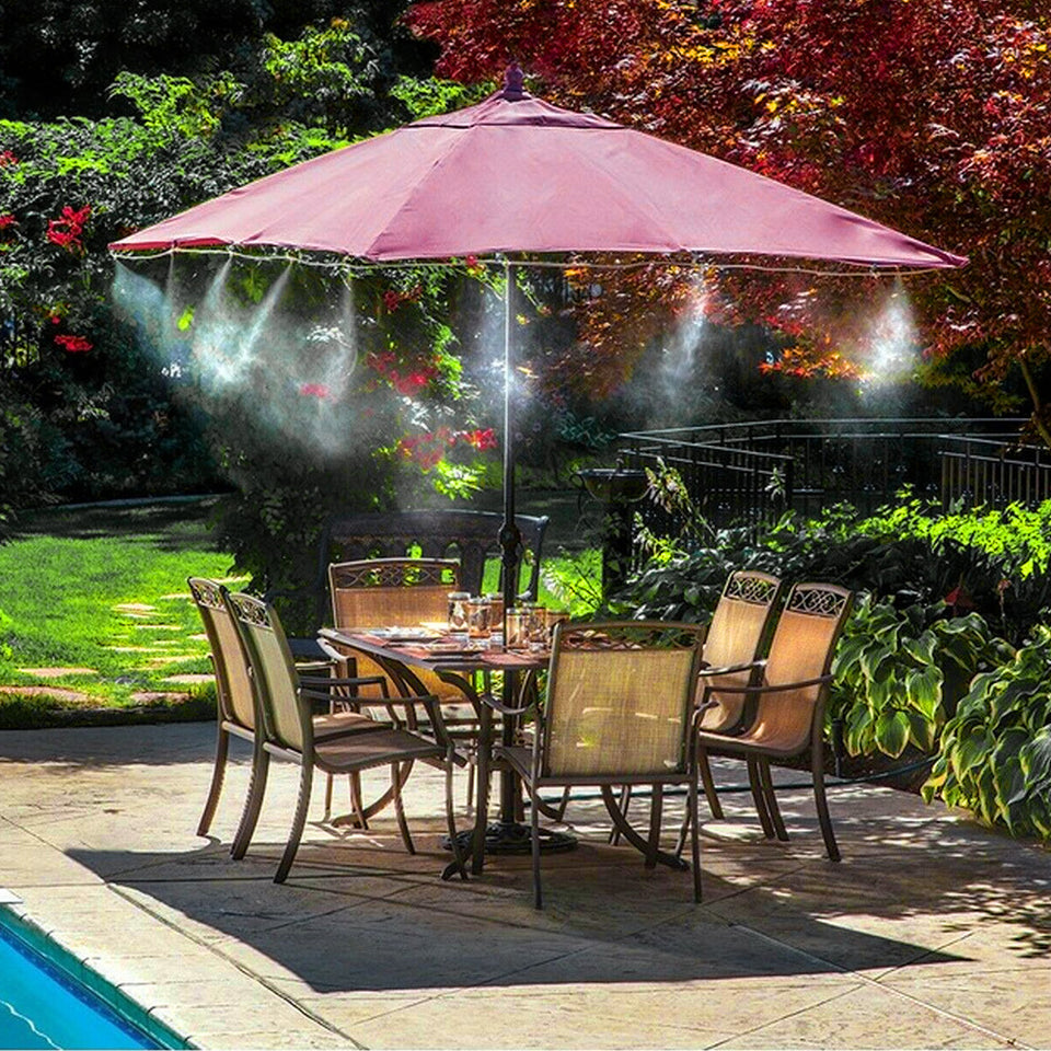 Outdoor Mist Cooling System - Dave's Deal Depot
