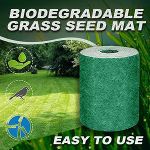 """All-in-one"" Grass Seed Fabric Fertilizer & Mulch - Dave's Deal Depot"