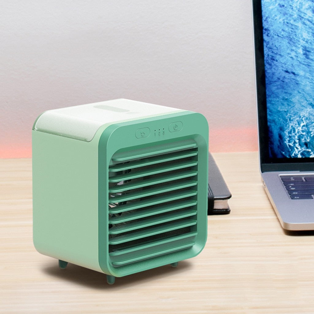 Rechargeable Water-Cooled Air Conditioner - Dave's Deal Depot