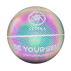 Holographic Luminous Reflective Basketball