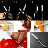 2 in 1 Clever Cutter Knife