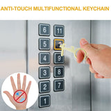 Non-Contact Antimicrobial Key Chain Tool - Dave's Deal Depot