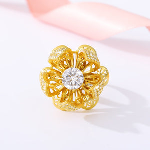 Beautiful Blooming Flower Ring