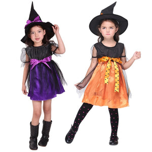 Kids Halloween Witch Costume