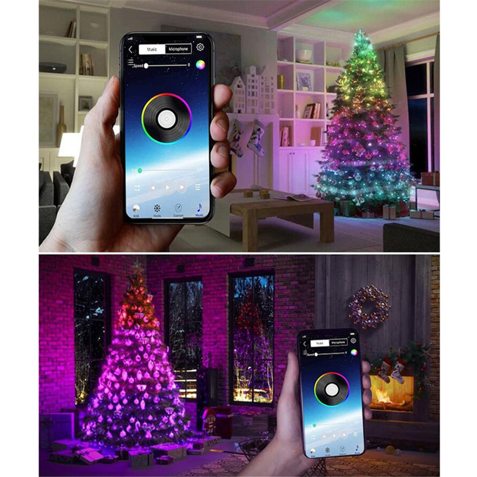 Bluetooth LED Christmas Lights