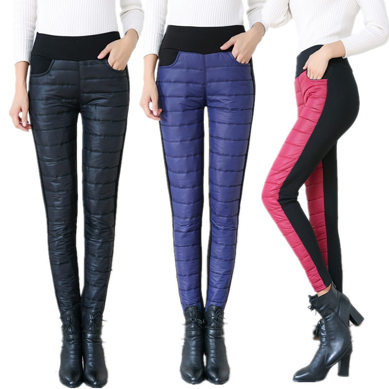 Winter Embroidery Trousers For Women