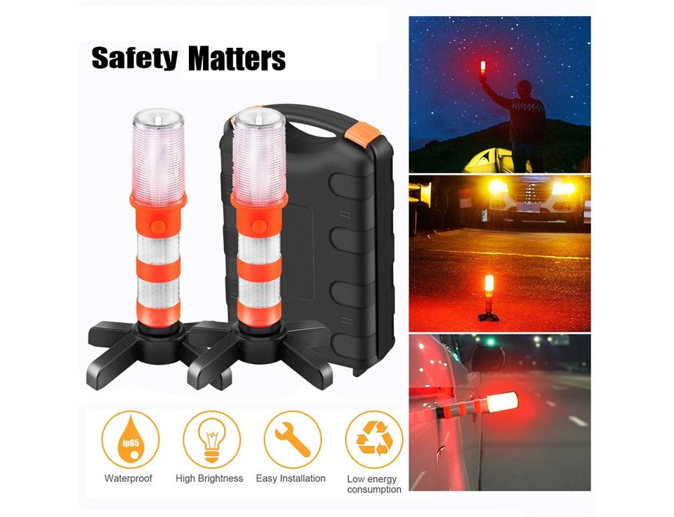 LED Emergency Roadside Flares - Dave's Deal Depot