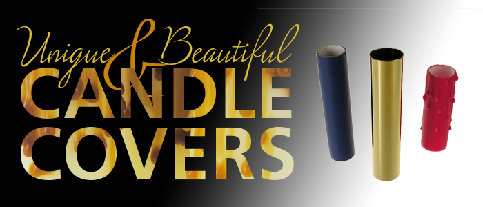 candle covers slide over lamp bases to cover the electronics and represent the candle that once adorned chandeliers our wide variety of candle covers are
