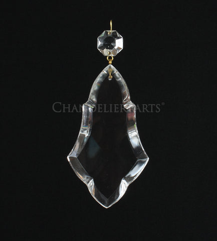 Turkish Crystal Pendalogue w/ Top Bead <br> (3 sizes)