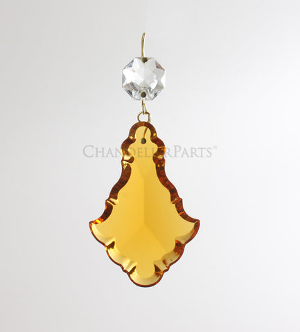 Colored Turkish Pendalogues w/ Top Bead <br> (multiple sizes/colors)