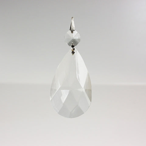 "2-1/2"" Traditional Cut Teardrop w/ Top Bead (2 styles)"