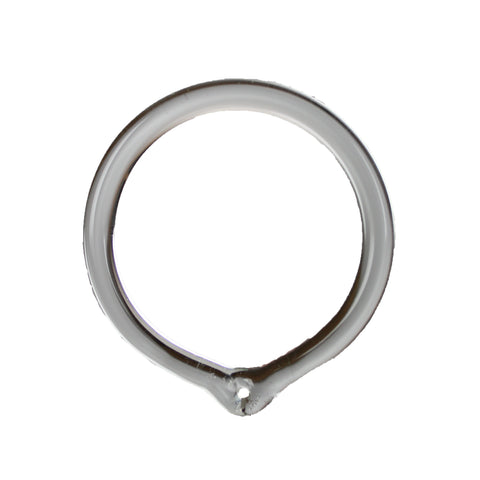Ring with Hang Loop (Glass or Plastic)
