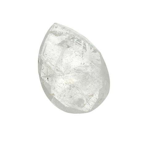 Clear Swedish Teardrop Rock Crystal (4 inch)