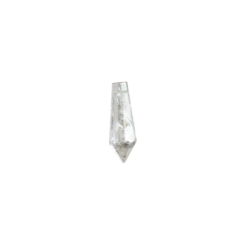 Rock Crystal Plug Drop