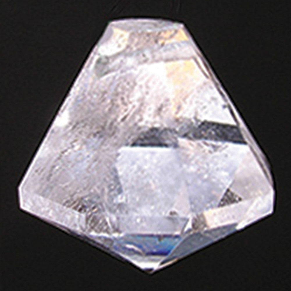 Diamond Plug Rock Crystal (30mm)