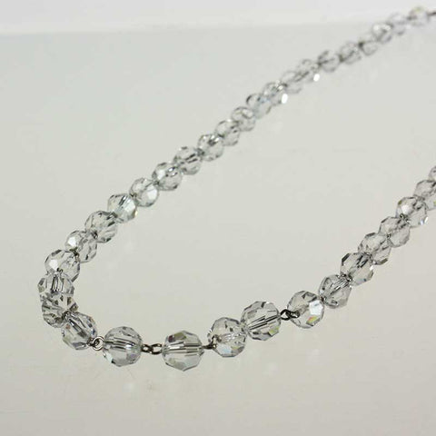 Clear 10mm Bead Brilliant 1 Meter Chain (Chrome pinned)