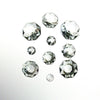 Clear 2 Hole Octagon Bead <br> (17 sizes)