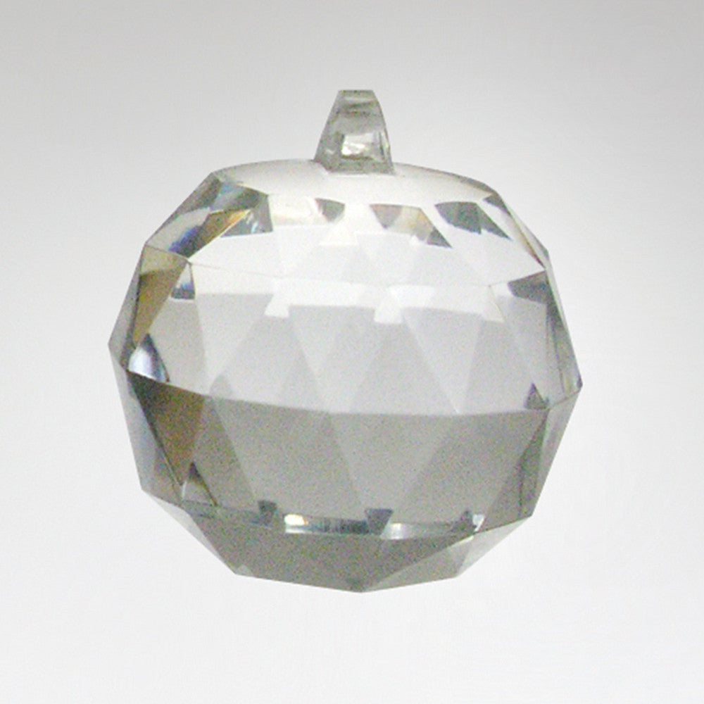 Clear Full Cut Faceted Ball (8 sizes)