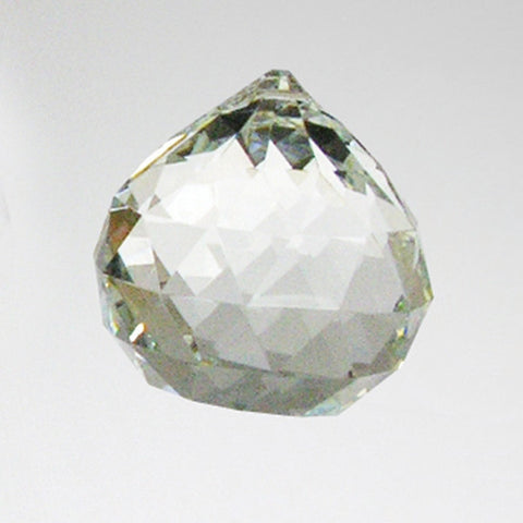 Clear Faceted Chandelier Ball (9 sizes)