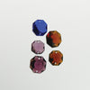 Colored 2 Hole Octagon Bead 14 to 18mm (various sizes, colors)