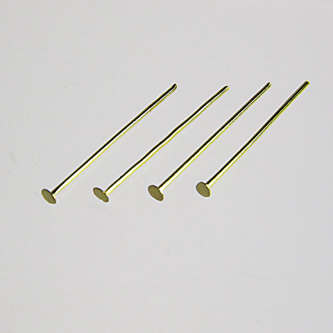 Brass Headed Pins (100/pack)