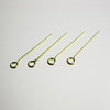 Brass Open Eye Pins (100/pack)