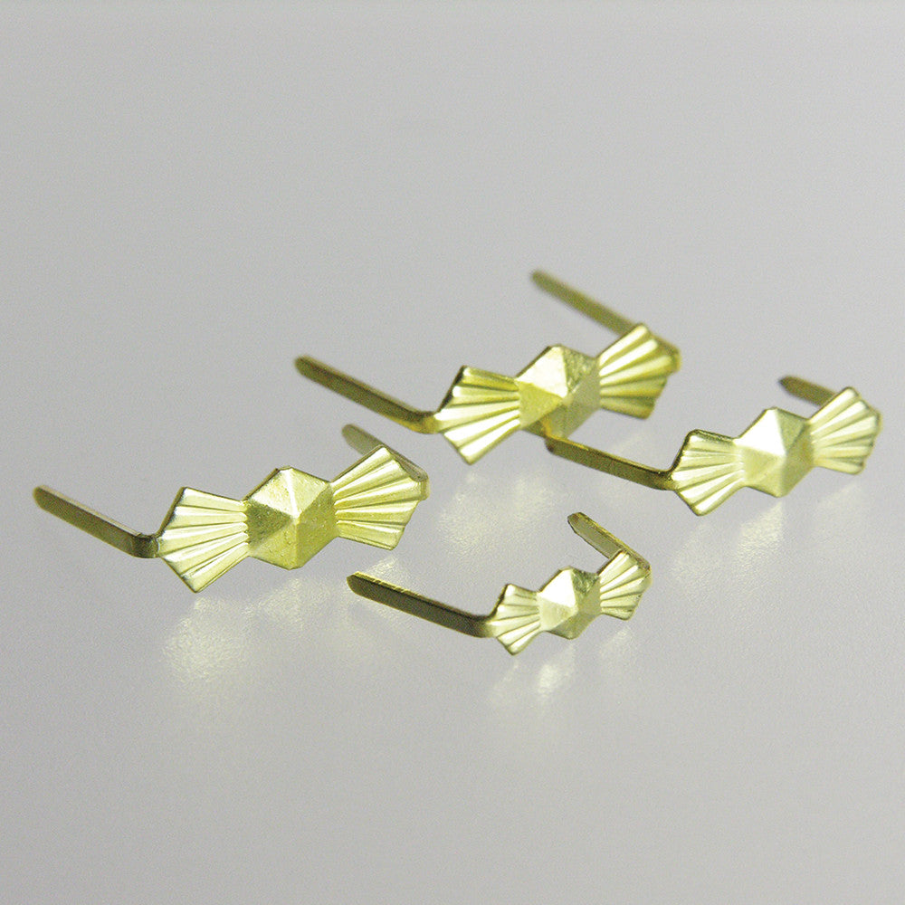Brass Bow Tie Hangers (25/pack)