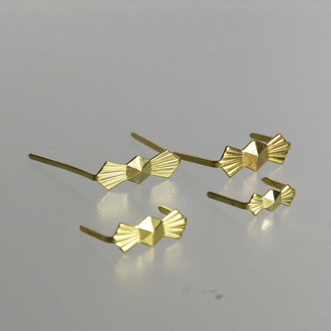 Gold Bow Tie Hangers (25/pack)