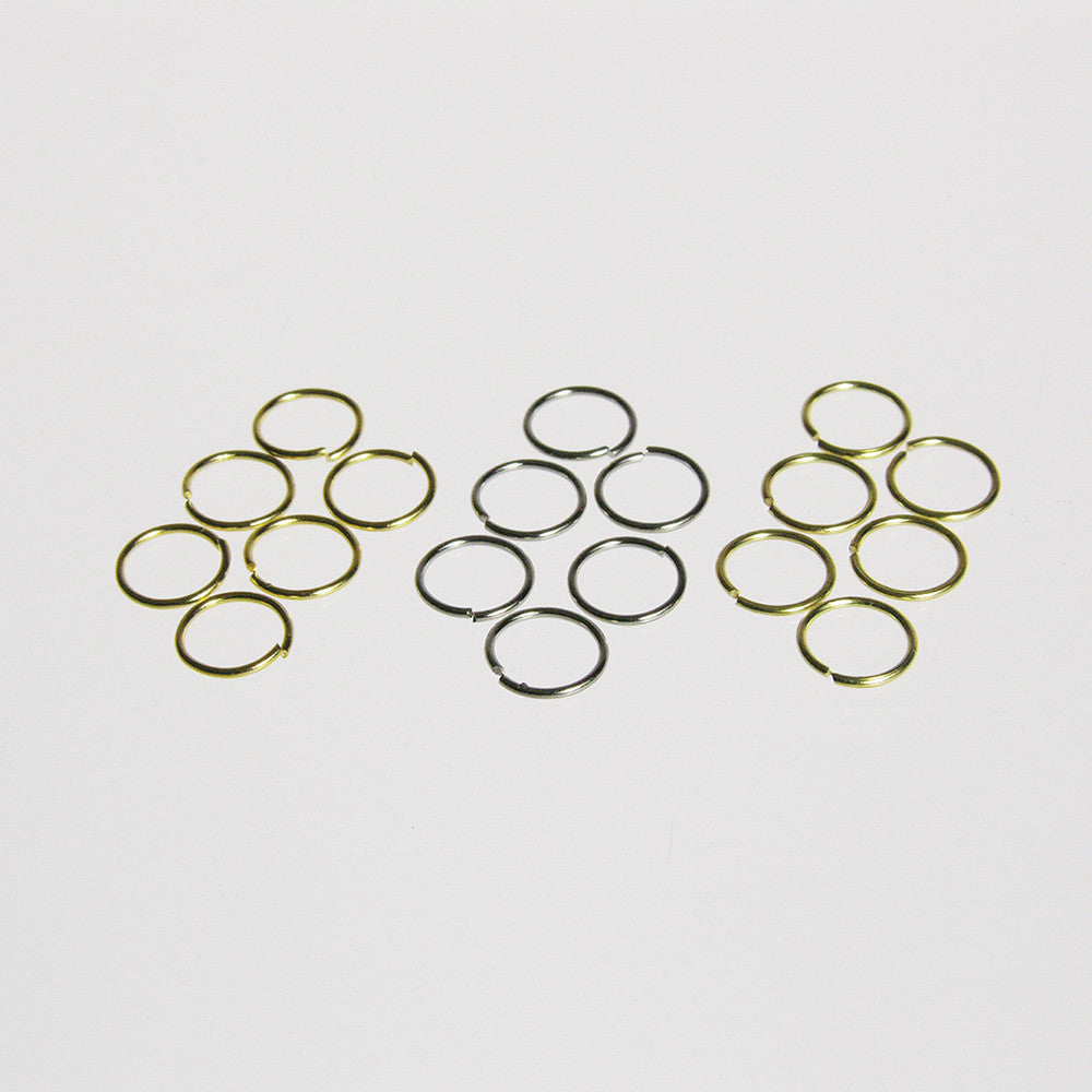 Round Rings, 9mm (25/pack)