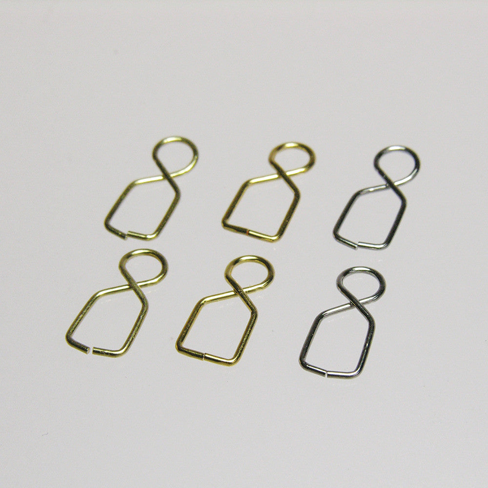 Rings with Clamp, 13mm (25/pack)
