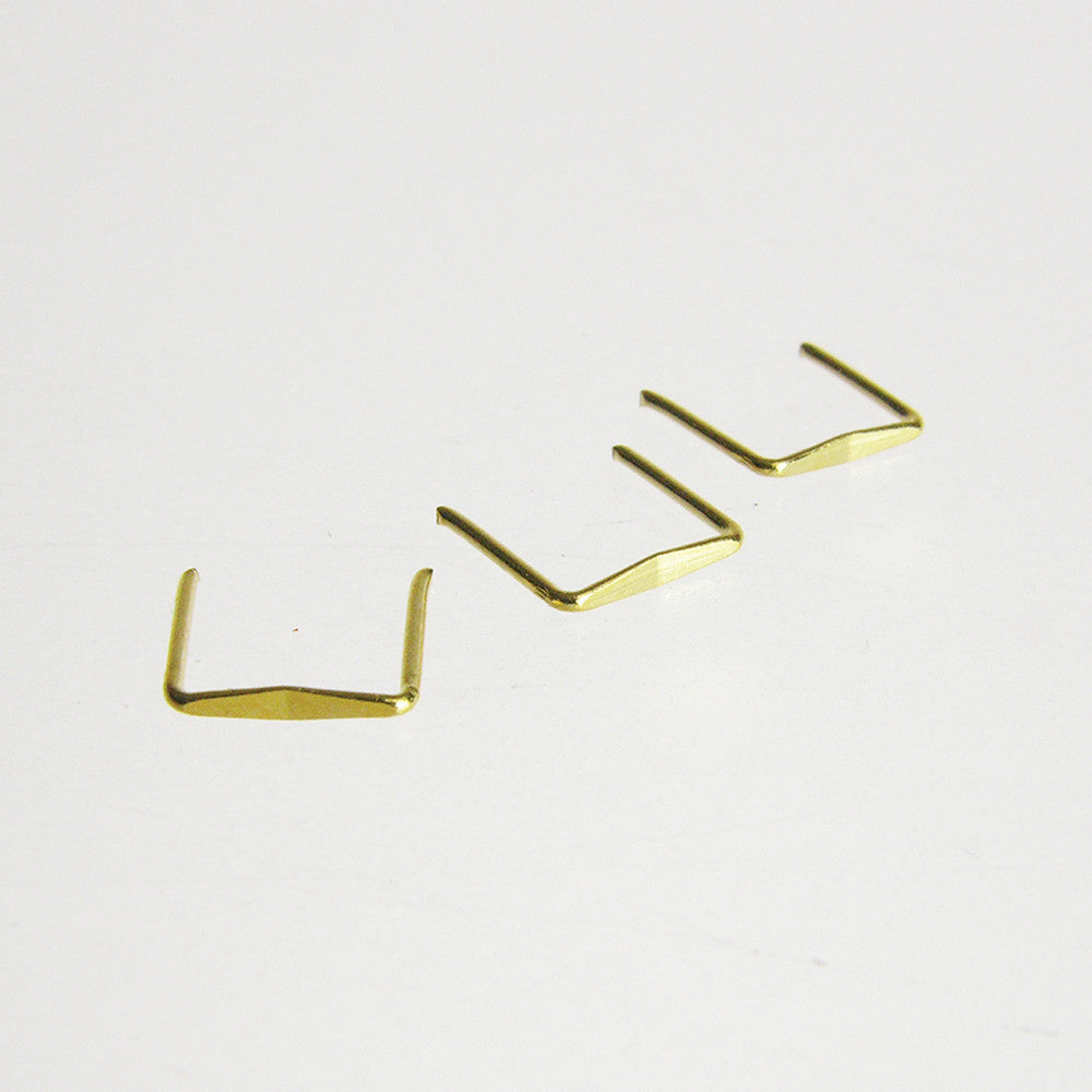 Gold Diamond Clips (100/pack)