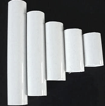 White Plastic Candle Cover (11 sizes), candelabra base (Pack of 12)