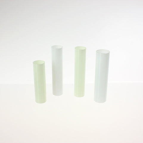 Glass Candle Cover (4 options) Candlelabra Base