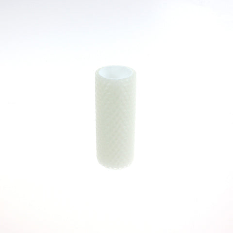 "(NEW) 4"" Ivory Honeycomb Beeswax Covers, medium base"