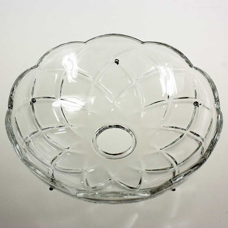 "6"" 30% Lead Crystal Bobeche<br>5 pin"