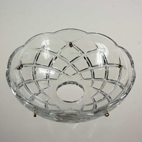 "4.8"" ASFOUR 30% Lead Crystal Bobeche<br>5 pin"