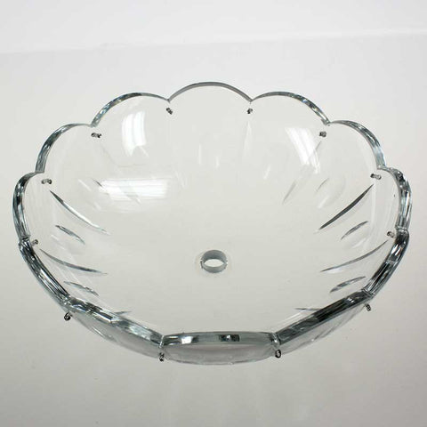 SPECIAL ORDER Clear Bobeche<br>3 sizes, various pins